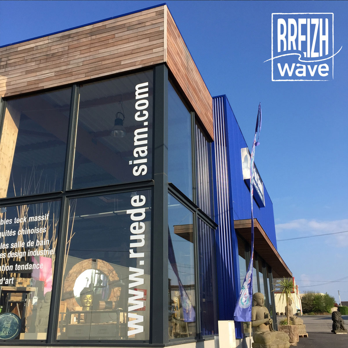 campagne de promotion magasin communication 2015 rue de siam meubles breizh wave. Black Bedroom Furniture Sets. Home Design Ideas